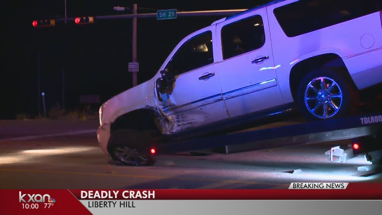 Two dead in crash on SH 29 in Liberty Hill