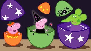 Peppa Pig Halloween Special 🎃 Learn Sizes for Kids - Learning with Peppa Pig
