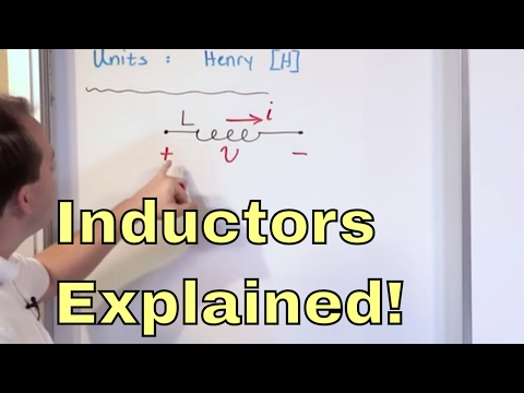 Lesson 1 - What is an Inductor?  Learn the Physics of Inductors & How They Work - Basic Electronics