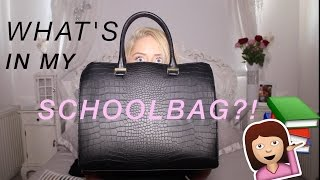 WHATS IN MY SCHOOL BAG?!