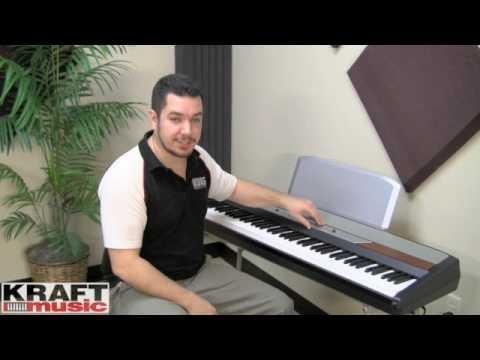 Kraft Music - Korg SP-250 Digital Piano Demo with Rich Formidoni
