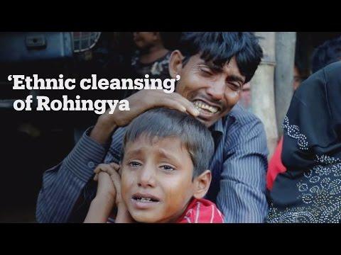 Thousands of Rohingya flee violence in Myanmar