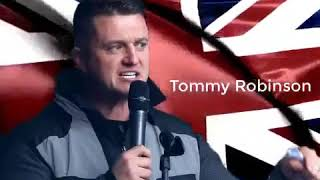 No matter what colour your skin is we will stand with you  Tommy Robinson