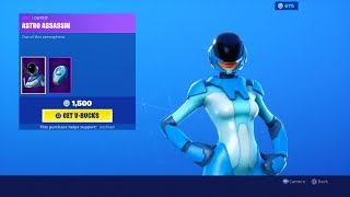 *NEW* ASTRO ASSASSIN SKIN Fortnite Item Shop Update Countdown Live [September 7] (Fortnite Gameplay)