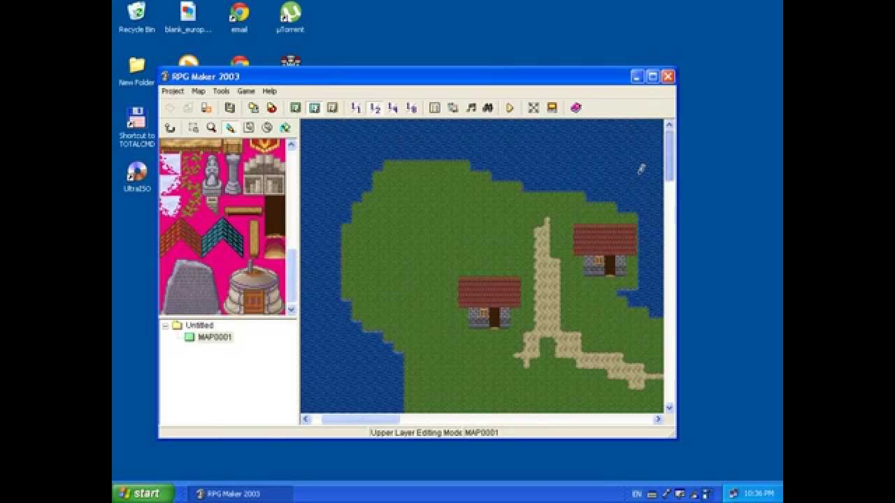 Rpg maker 2003 tutorial 1 HD (Maps)