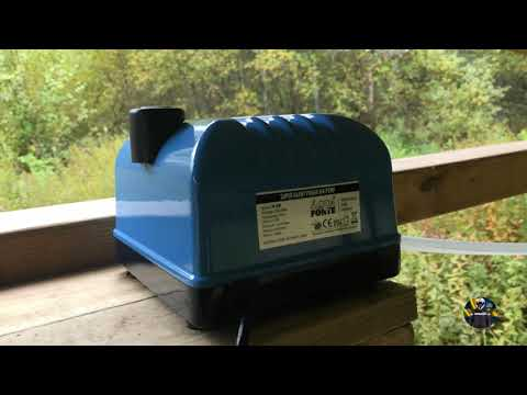 HAILEA V-20 Cheap Air-pump For Pond/Billig Luftpump Till Dammen