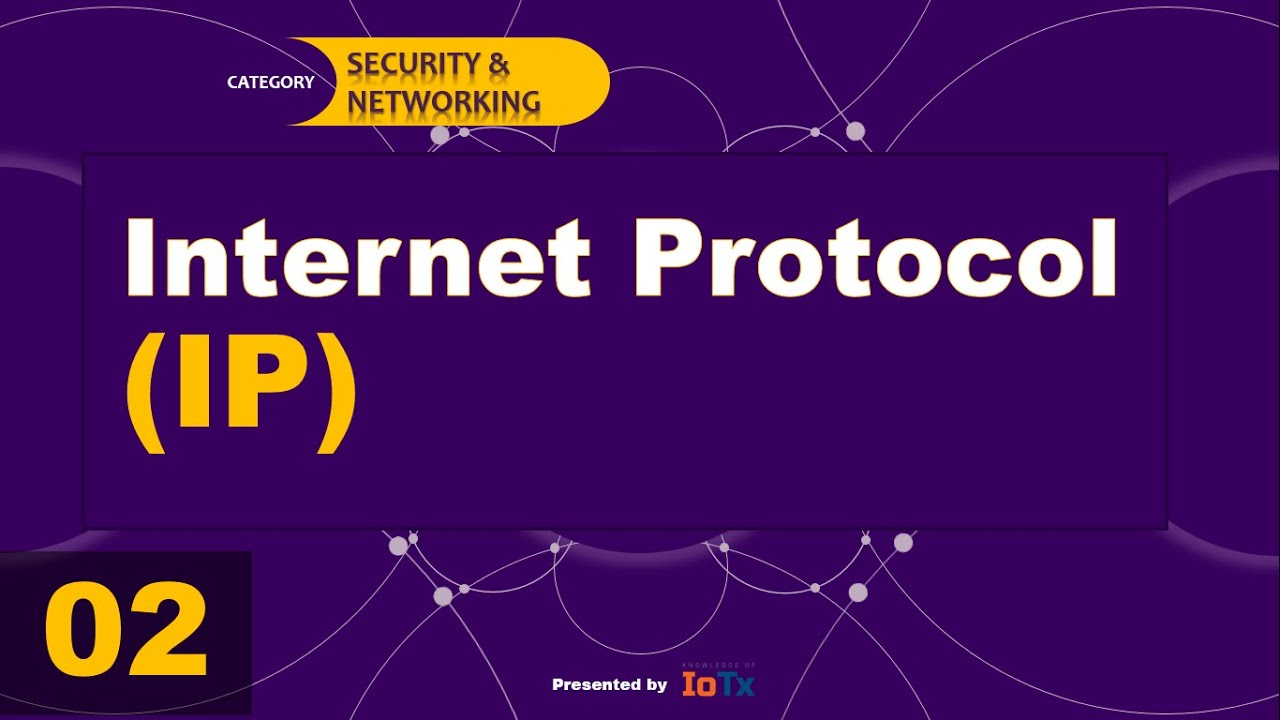 Definition of Internet Protocol Address || Episode - 02 ...