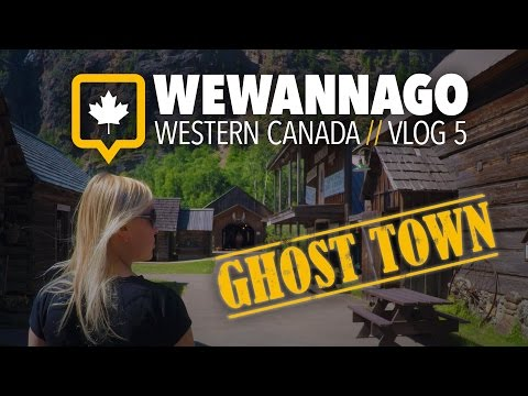 Exploring A Creepy Ghost Town // Three Valley Gap in British Columbia Canada // WeWannaGo Vlog #5