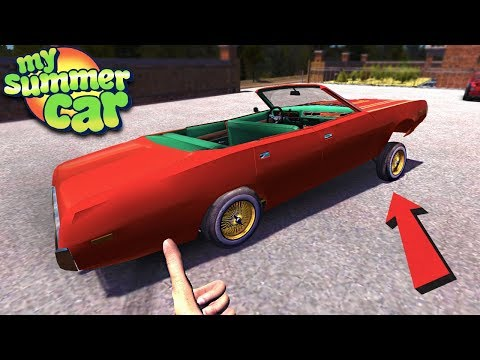 My Summer Car - LOW RIDER UPDATE