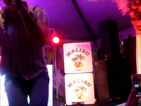 Gabe Saporta tribute to Hip Hop via Malibu Event NYC