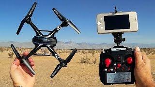 SkyRC D20G FPV Camera Drone Flight Test Review