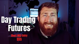 HOW TO DAY TRADE FUTURES   GOING SHORT