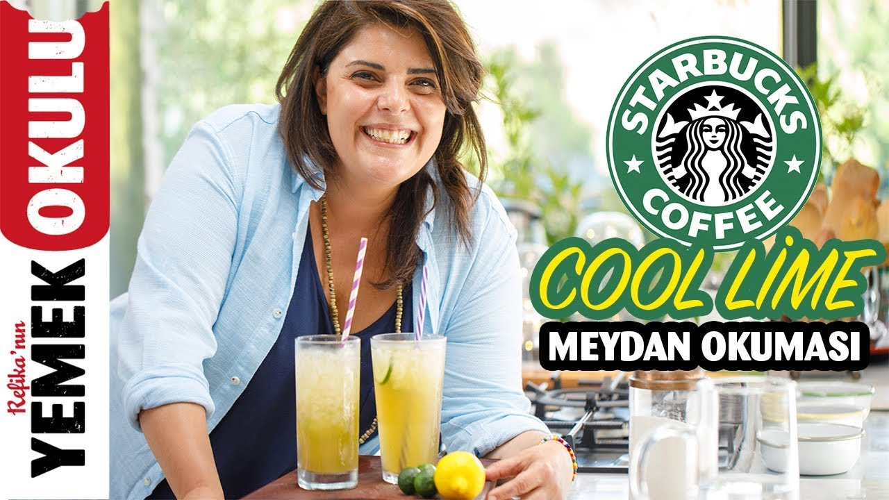 Starbucks - Cool Lime Challenge | More Delicious and Cheaper Homemade Cool Lime Recipe