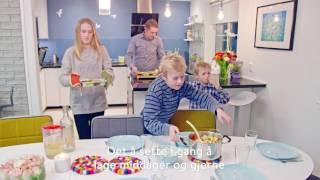 Middagseksperimentet – hjemme hos