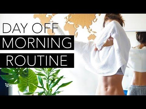 LA MIA MORNING ROUTINE LA DOMENICA - DAY OFF MORNING ROUTINE ABITUDINI SANE