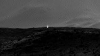 MARS: MYSTERIOUS LIGHT CAPTURED BY CURIOSITY ROVERS APRIL 8, 2014