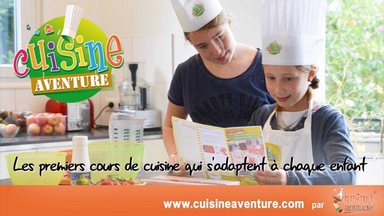 Cuisine aventure les premiers cours de cuisine distance - Cours de cuisine enfant ...