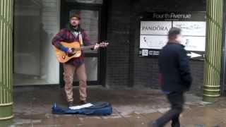 Busker Singing