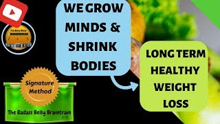 Healthy weight loss ...