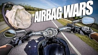 Airbag Prank Wars (Story)