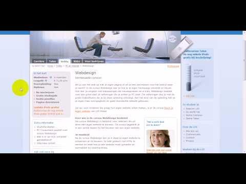 Leer Je Eigen Websites Maken - Webdesign Cursus - Gratis Proefles?