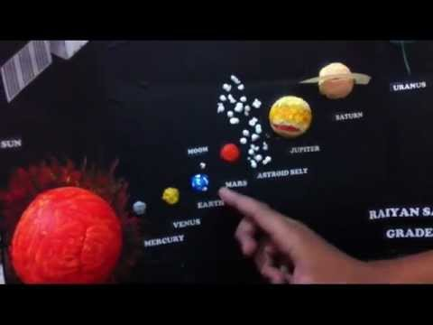 Grade 2 Student Solar System Model Mp4 Youtube