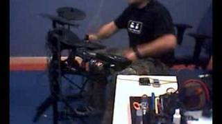 Coal Chamber Drum cover on dd506 electronic drumkit