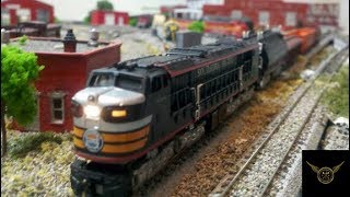 Private model railroad at home - The real passion