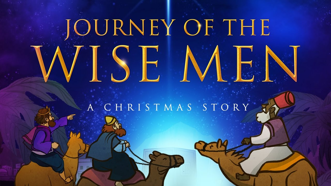 Bible Christmas Story.The Christmas Story For Kids Matthew 2 The Magi Christmas Sunday School Lesson For Children