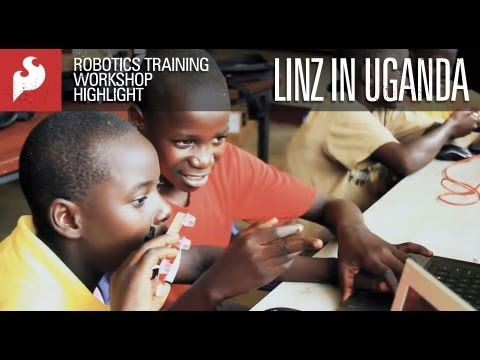 Robotics Training Workshop Highlight - Linz Craig in Uganda