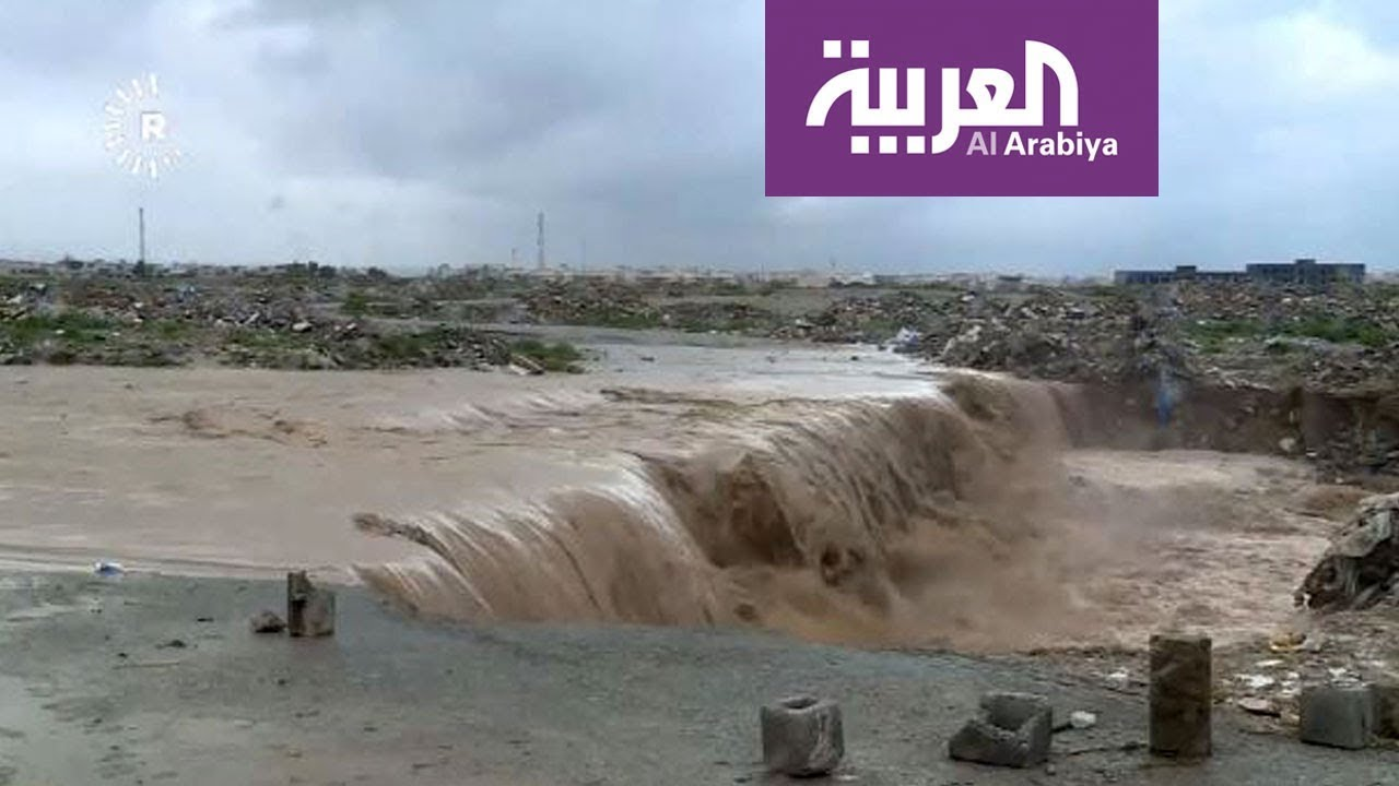 سيول وفيضانات يشهدها العراق لأول مرة منذ 30 سنة