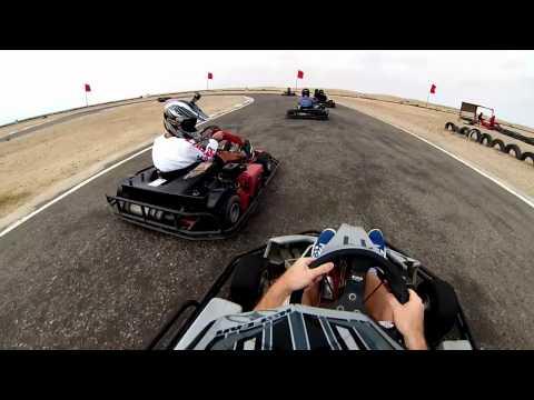 Go-Kart Racing GoPro Hero 3 Swakopmund Namibia 2014