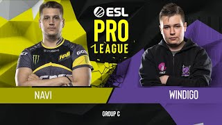 CS:GO - Natus Vincere vs. Windigo Gaming [Dust2] Map 3 - Group C - ESL Pro League Season 9 Europe