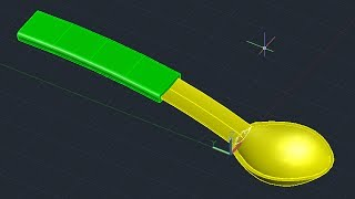 Autocad Tutorial 3d Spoon