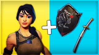 10 TRYHARD SKINS COMBINATIONS in FORTNITE (Battle Royale)