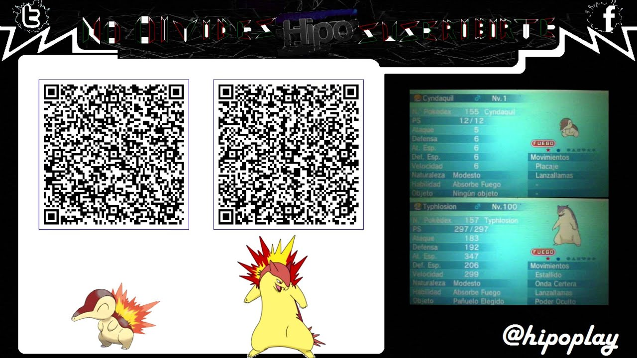 Level 1 Cyndaquil Qr Code
