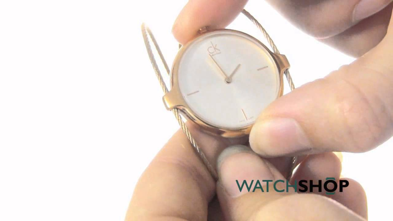 370b71336d6 Calvin Klein Ladies  Agile Watch (K2Z2M616) - YouTube