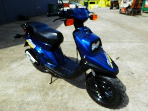 yamaha 50cc zuma scooter 2000 model youtube. Black Bedroom Furniture Sets. Home Design Ideas
