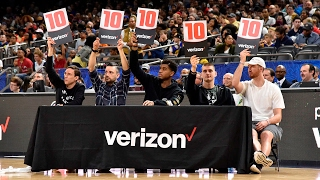 2017 NBA D-League Slam Dunk Contest Presented By Verizon Video