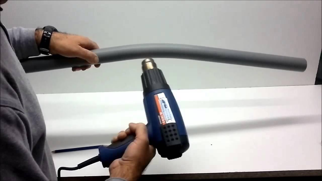 Como doblar tubos de pvc tubos desag e pvc youtube - Tubos desague pvc ...