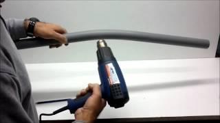 Como doblar tubos de pvc, tubos desagüe pvc.
