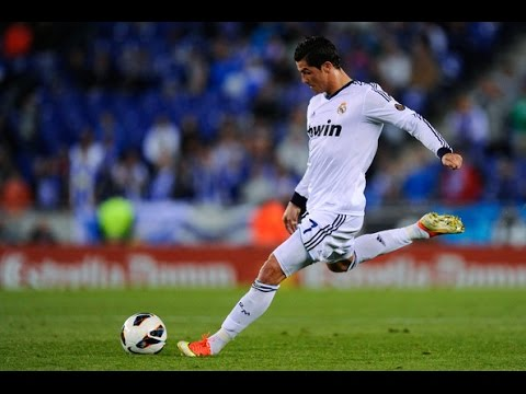 How To Shoot Like Cristiano Ronaldo Youtube