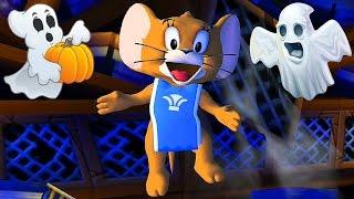 Whiskers Tom ve Jerry Savaş / Çizgi film Oyunları Çocuk TV Halloween