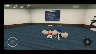 Roblox Simultor lift with my brother