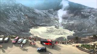 Video Dronehobbiessby @Kawah Tangkuban Perahu  Bandung download MP3, 3GP, MP4, WEBM, AVI, FLV November 2018