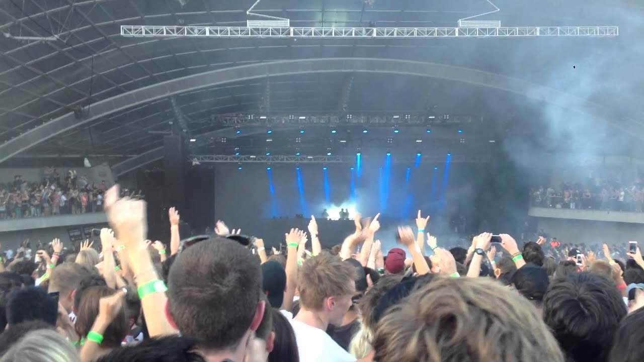 Swedish House Mafia   Greyhound   Sidney Myer Music Bowl Melbourne