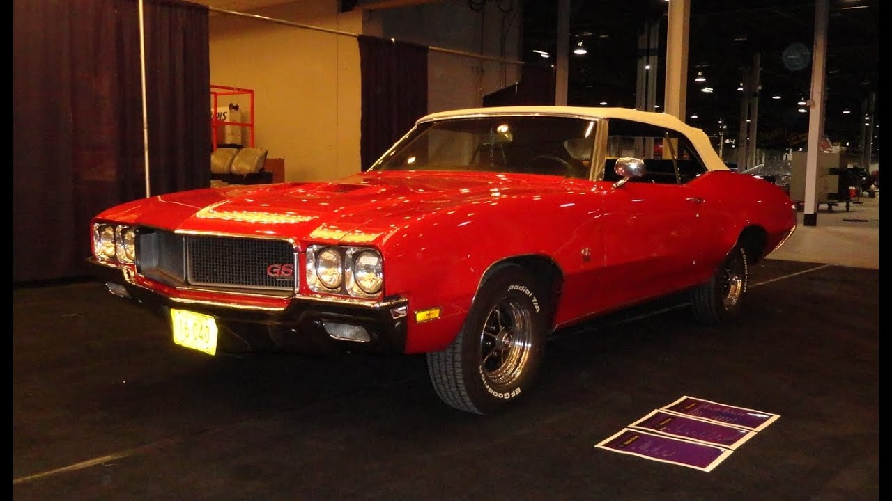 1970 Buick Gran Sport GS 455 In Fire Red Paint U0026 White Convertible   My Car  Story With Lou Costabile