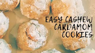 How to Make Diwali Sweets! | Easy Cashew Cardamom Cookie Recipe | GENIUS BAKING