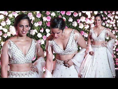 Saina Nehwal HOT At Kapil Sharma Wedding Reception Party