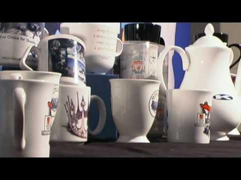 Transfer Printing Process on Promotional Mugs